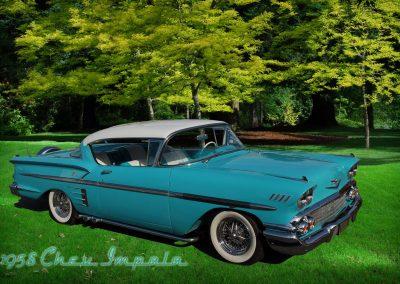 classic 1928 Chev Impala