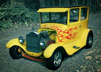 classic 1927 Ford Model T