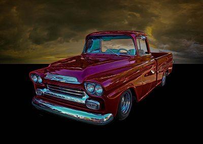 classic 1959 Chev pickup
