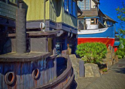 Nautically Themed Street
