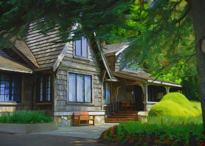 Filbeerg Lodge, Comox, BC, Canada