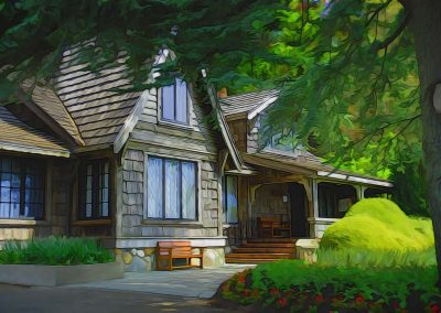 Spring Lodge - 24x36 $475