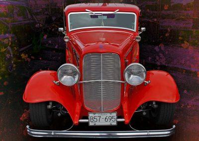 classic 1932 Ford sedan