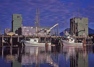 Tofino Harbor Thirty Years Ago