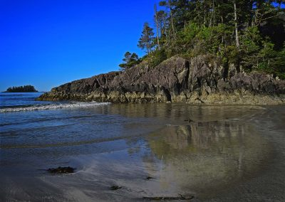 West Coast Beach on a Still Day