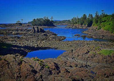 Craggy West Coast Shoreline