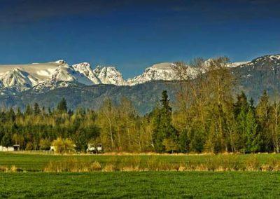 Comox Glacier Panorama - 16x48 $425