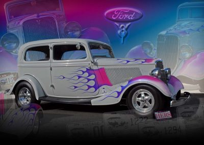 classic 1934 Ford Delux