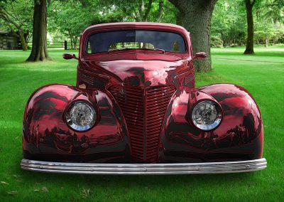 classic 1938 Ford coupe