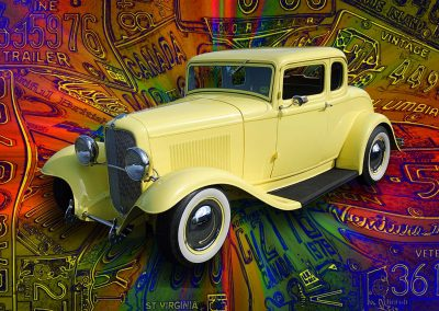 classic 1932 Ford coupe