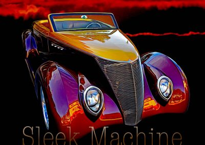 classic 1937 Ford Custom Roadster