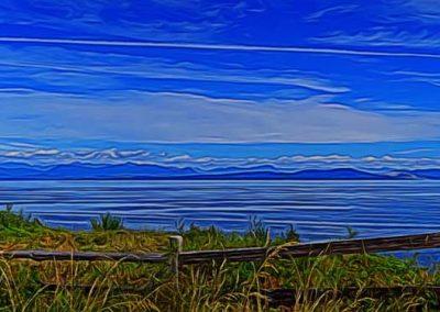 ocean view panorama