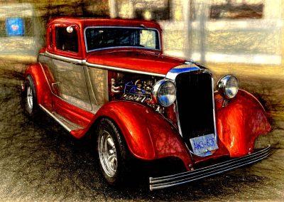 classic 1933 Dodge coupe