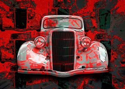 abstract classic 1935 Ford