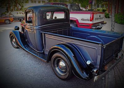 classic 1935 Ford pickup