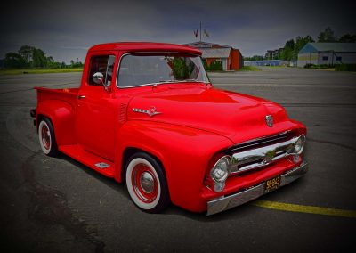 classic 1953 Ford pickup