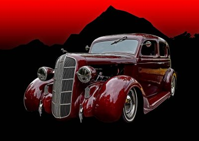 classic 1936 Dodge 4 door sedan