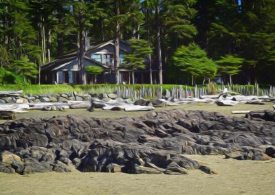 beach house near Tofino, BC, Canada