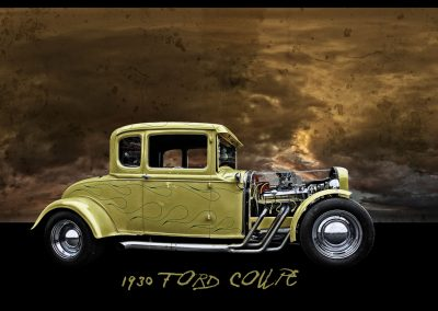 1930 classic Ford coupe