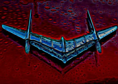 classic car's hood ornament
