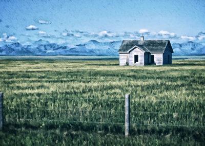 Forgotten Prairie Farmhouse